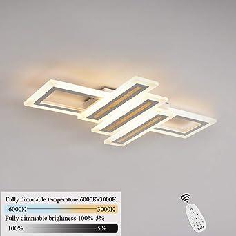 Plafonnier Dimmable À 6000k Réglable Luminaire Applique Avec Géométrique Mural Moderne Lampe L'infini Led 60cm 3000k Design v8n0mwN