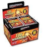 Grabber Super Pack Toe Warmers, Save Big, Fresh Stock 100-Pair Pack