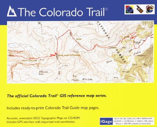 (iGage All Topo Maps Colorado Trail Map CD-ROM (Windows))