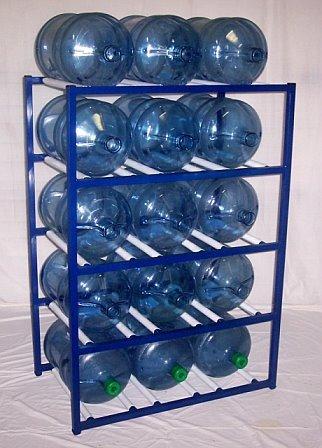 ShaCo Racks 5 Gallon Water Bottle Storage Rack with 15 Bottle Capacity  sc 1 st  Amazon.com & Amazon.com : ShaCo Racks 5 Gallon Water Bottle Storage Rack with 15 ...
