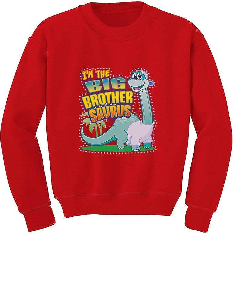Tstars Big Brother Saurus for Big Brothers Toddler/Kids Sweatshirts Gl0Ma0gf5