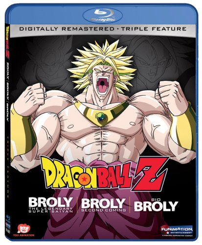 Dragon Ball Feature Bio Broly Blu ray product image