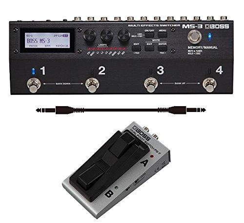 [해외] [풋 스위치/FS-7+audio-technica제 접속 케이블부]BOSS 보스 MS-3