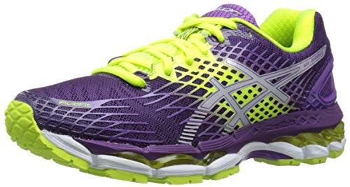 ASICS Women's Gel-Nimbus 17 Running Shoe,Lightning/White/Hot...
