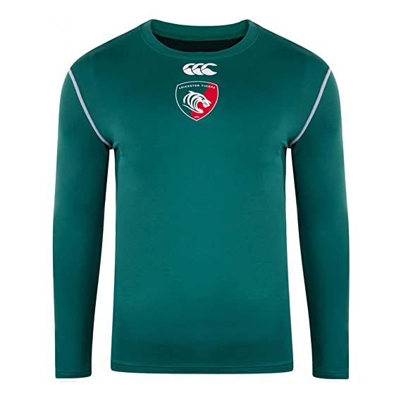 Canterbury Leicester Tigers Kids Home Cold Base Layer Top  JSM - Junior  Small 2f725bfb86c