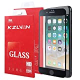 KZLVN iPhone 7/iPhone 8 Screen Protector-[3D Curved] Full Coverage 9H Hardness Tempered Glass for Apple iPhone 8 4.7 inch 2017 and Apple iPhone 7 4.7 inch 2016.[3D Touch Compatible]