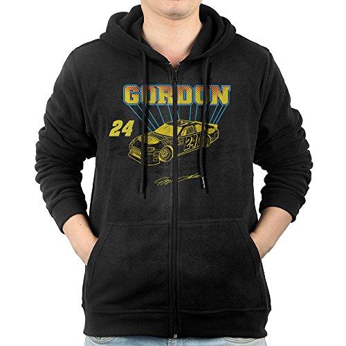 [Celets Jeff Gordon-nascar Men's Custom Long Sleeve Zipper Hoodie M Black] (Nascar Tony Stewart Costumes)