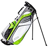 IZZO Golf Lite Grey/Lime/White Walking Ultra Light Perfect with Dual Straps for Easy to Carry Golf Bag