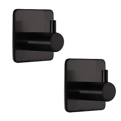 Robe Hooks Bathroom Hardware Hard-Working 5 Hooks Sus304 Stainless Steel Board Home Wall Mounted Bathroom Kitchen Bedroom Cloth Towel Rack Coat Hat Holder Hanger Latest Technology