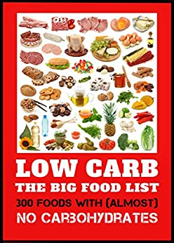 Low Carb - The Big Food List - 300 foods with (almost) no ...