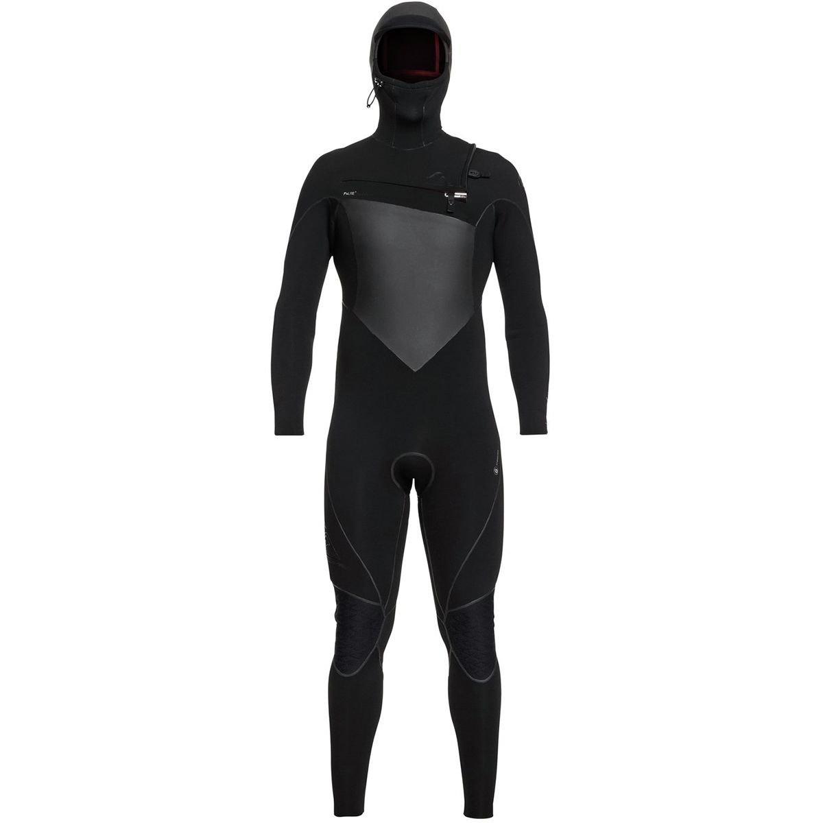 Quiksilver Mens 5/4/3 Highline+ Cz Hyd Hd Black Full Wetsuit Size LT   B07F9LDYR6