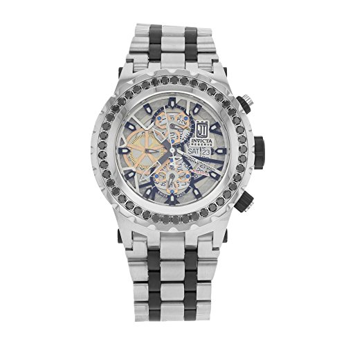 Invicta Men's 15495BWB Jason Taylor Analog Display Swiss Automatic Two Tone Watch