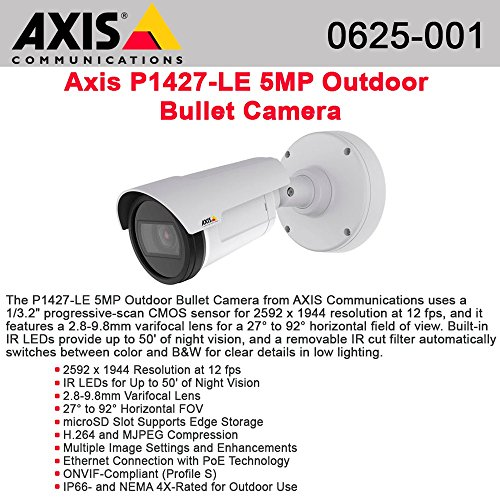 (P1427-LE FIXED NETWRK CAM OUTDR)