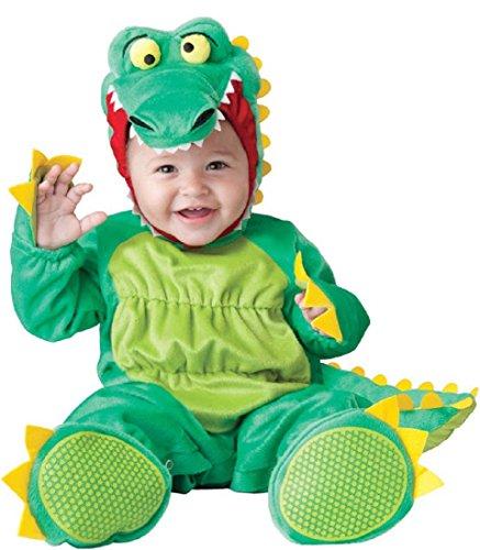 InCharacter Baby's Goofy Gator Costume, Green, Small -