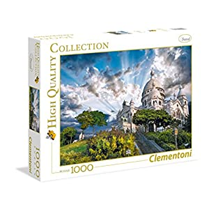 Clementoni 39383 High Quality Collection Puzzle Montmartre 1000 Pezzi