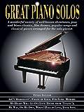 Great Piano Solos: Showtunes