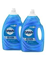 Dawn Ultra Dishwashing Liquid Dish Soap, Original Scent, 2 co...