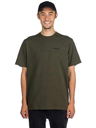 920423587b403 Patagonia Men s P-6 Logo Responsibili-tee Shirt  Amazon.co.uk  Clothing