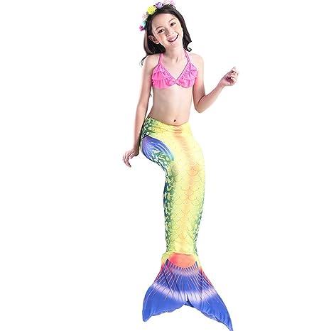 Bañador Mujer Traje De Baño Sirena,Cola De Sirena para ...