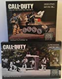 Bundle of 2 Items - ''Call of Duty'' - Collector Construction Gift Set - Alpine Rangers/Drone Attack