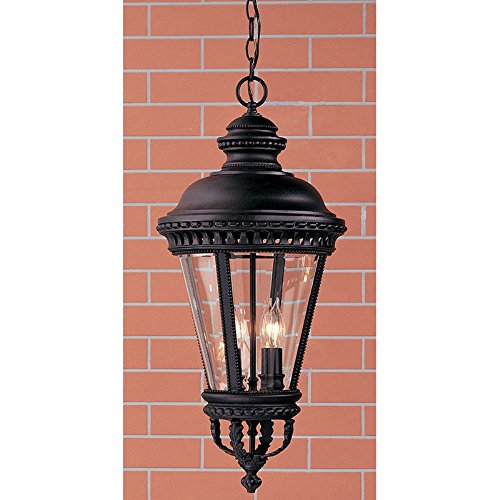 Feiss Castle Outdoor Hanging Lantern - 27.25H (Castle Bronze Finish)