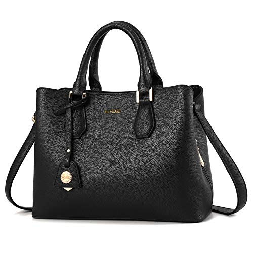 BAG WIZARD Women Handbag Purse Shoulder Bag Designer Top Handle Ladies Satchel Tote Bags