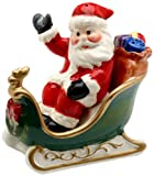 Cosmos Santa on Sleigh Salt & Pepper Set