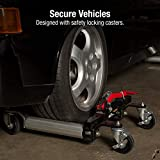 Sunex 1500-Pound Hydraulic Wheel Dolly