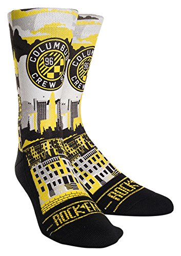 Rock Em Apparel MLS Columbus Crew Custom Athletic Crew Socks