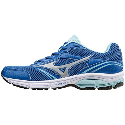 Mizuno Shoes Running Officially Wave Impetus 3 WOS J1GF151308 Royal Argento Celeste Size 37 SHIPPED FROM ITALY