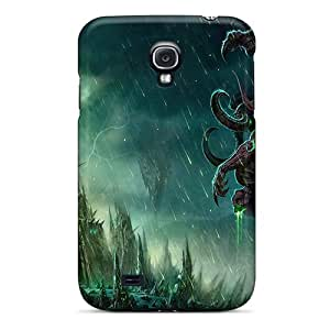 S4 Scratch-proof Protection Case Cover For Galaxy/ Hot World Of Warcraft Illidan Phone Case