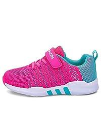 Topcloud Sneakers Kids Indoor Shoes Girls Sports Shoes Kids Outdoor Sports Shoes Low-Top Shoes for Unisex Kids