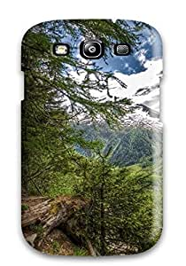 Hot Tpu Cover Case For Galaxy/ S3 Case Cover Skin - Mountain Bench Earth Nature Mountain