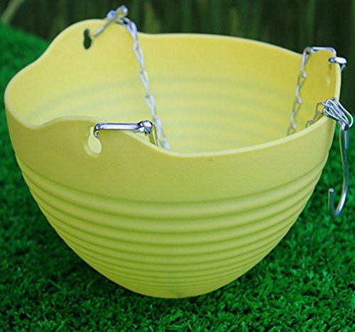 Boying Hanging Flower Plant Pot Chain Basket Planter Holder