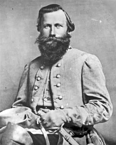 (New 8x10 Photo: Gen. James Ewell Brown JEB Stuart)