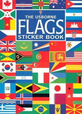 Best The Usborne Flags Sticker Book (Usborne Spotter's Sticker