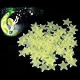 shot-in 100 X Home Wall Ceiling Glow In The Dark Stars Stickers Decal Baby Kids Bedroom