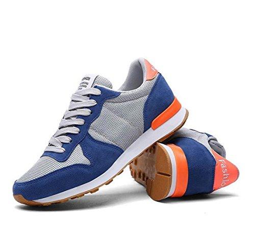 WZG Los nuevos zapatos deportivos ligeros de malla transpirable zapatillas de deporte par de zapatos de tacón plano Random delivery