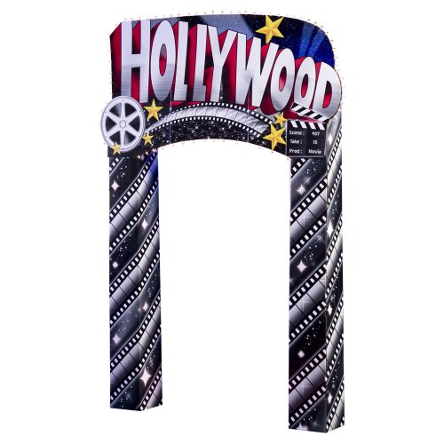 Hollywood Arch Party Prop by Shindigz