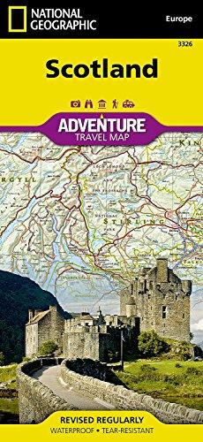 Scotland  National Geographic Adventure Map