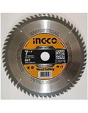 "inGCO Wood Cutting TCT Saw Blade 7"" 60T"
