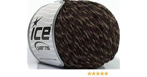crochet yarn knitting yarn felting yarn weaving yarn Merino Wool Yarn chocolate 2ply 400m100g
