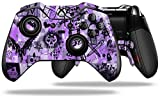 Scene Kid Sketches Purple Decal Style Skin fits Microsoft XBOX One ELITE Wireless Controller