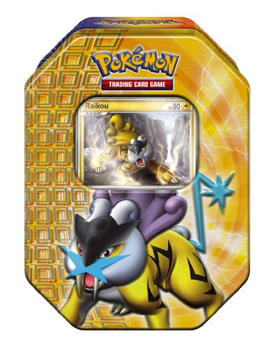 Pokémon Trading Card Game 2010 Holiday Tin - Raikou