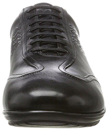 JOOP Vido New Raimon Sneaker Lfu, Scarpe Basse Uomo Nero (Nero)