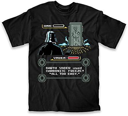 Star Wars Darth Vader Han Solo Video Game Pixel Carbonite