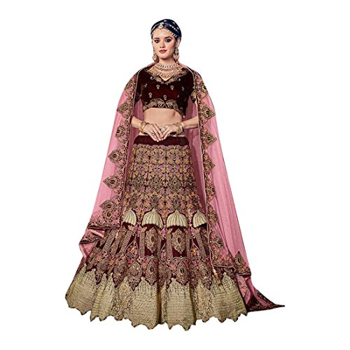 Bridal Wedding Designer Bollywood Women Lehenga Choli Dupatta Ceremony Chaniya Choli Collection 734 9 -