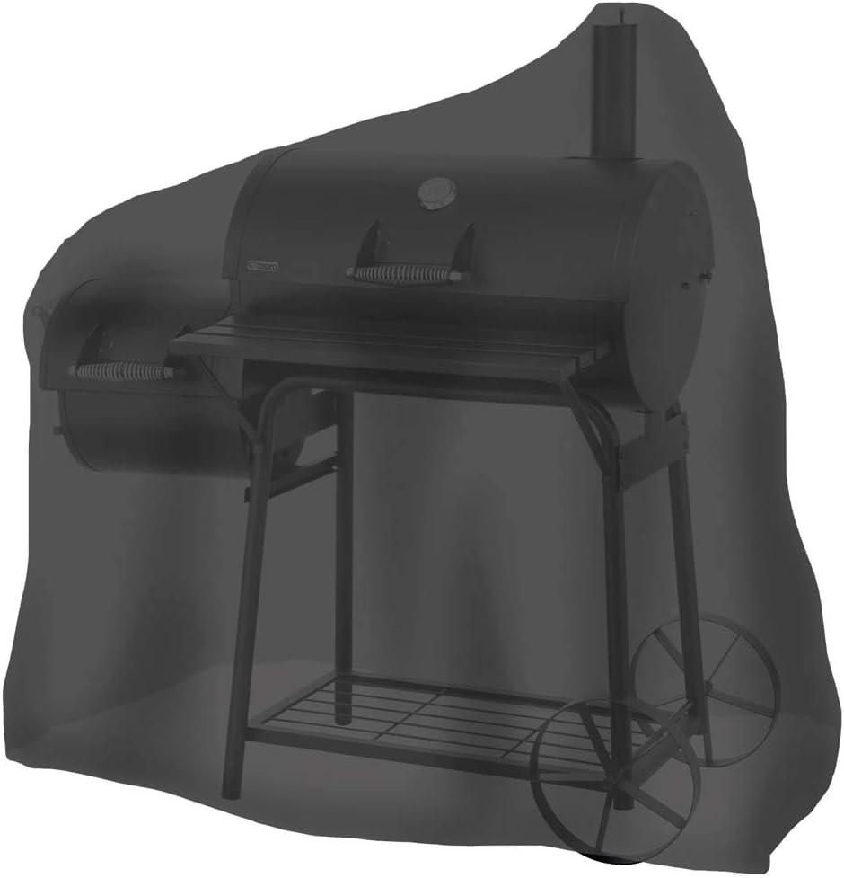 Tepro 8107 - Funda Universal para ahumador (tamaño Mediano), Color Negro
