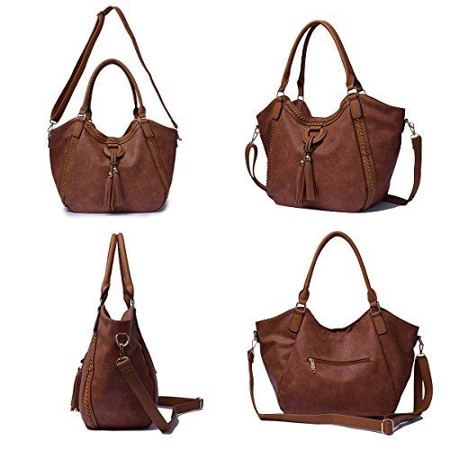 For Handbags Travel Bags Women Bag Black Clutches Purse Tote Bags Messenger Tibes wpqgt85xI
