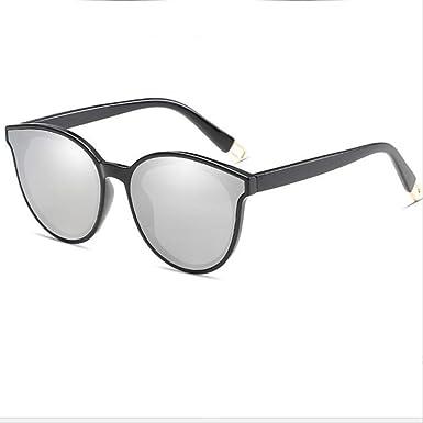 DongOJO Moda mujer ojo gafas de sol hombres doble haz gafas ...